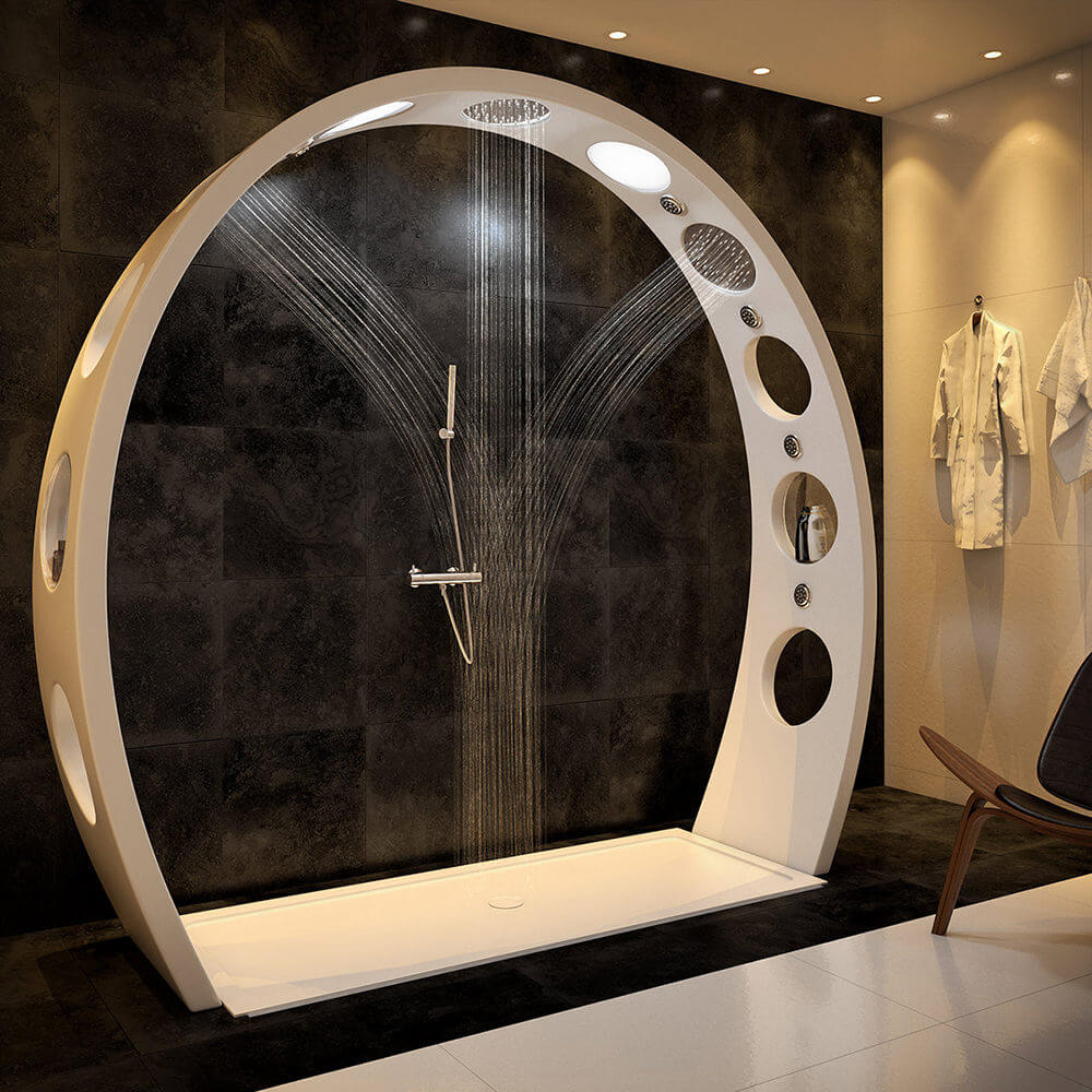 Arch Shower from QS Supplies