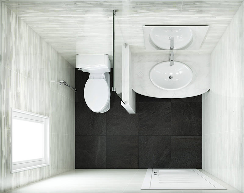 Small Cloakroom Layout