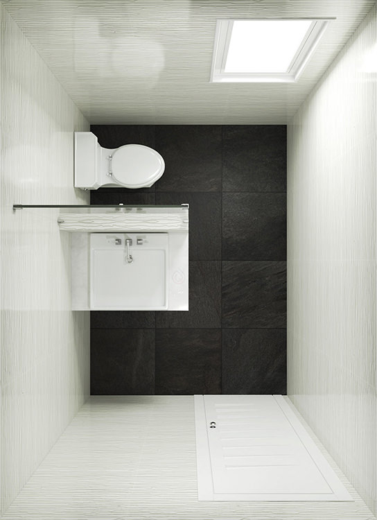 Large Cloakroom Layout