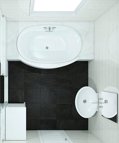99 Bathroom Layouts - Bathroom Floor Plans & Ideas