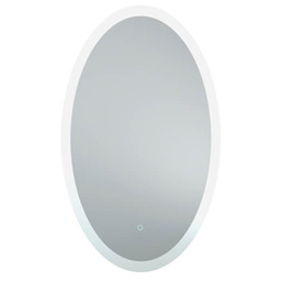Bathroom Origins Grand Central 600 x 1000mm Backlit LED Mirror