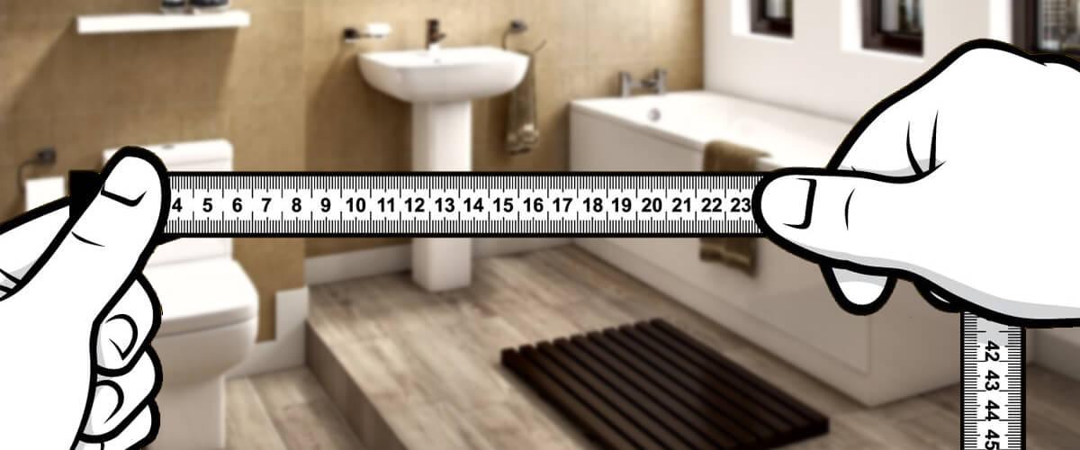 Measure Your Bathroom Area