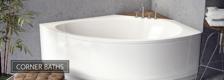 Corner Bath from QS Supplies
