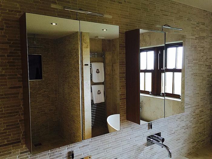 Roper Rhodes Signatures Double Mirror Door Cabinet Oak