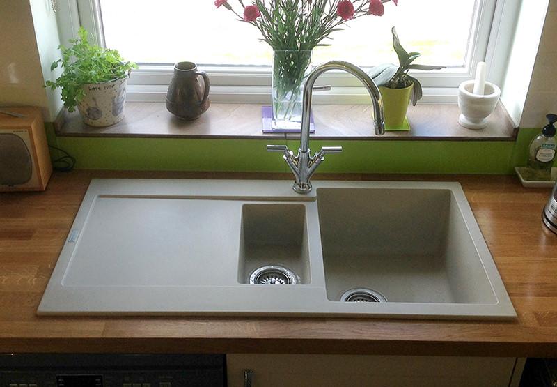 Kitchen Inset Sink