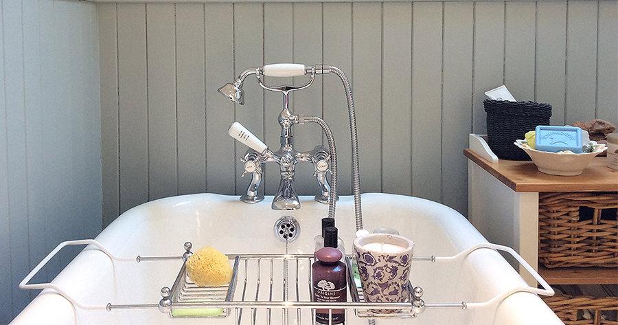 Luxury Bath Shower Mixer Tap Chrome