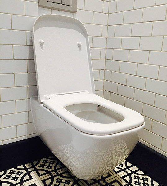 Duravit Happy D2 Wall Mounted Rimless Toilet