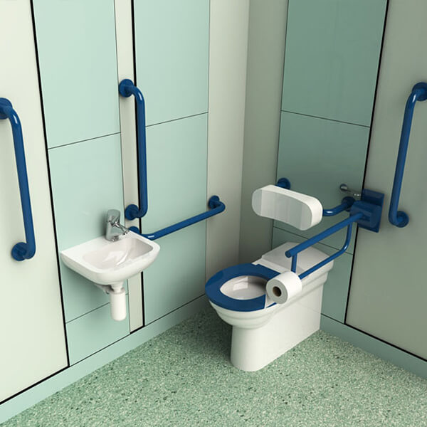 fully accessible toilet