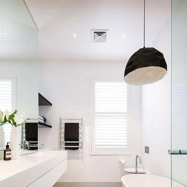 Dont forget an extractor fan