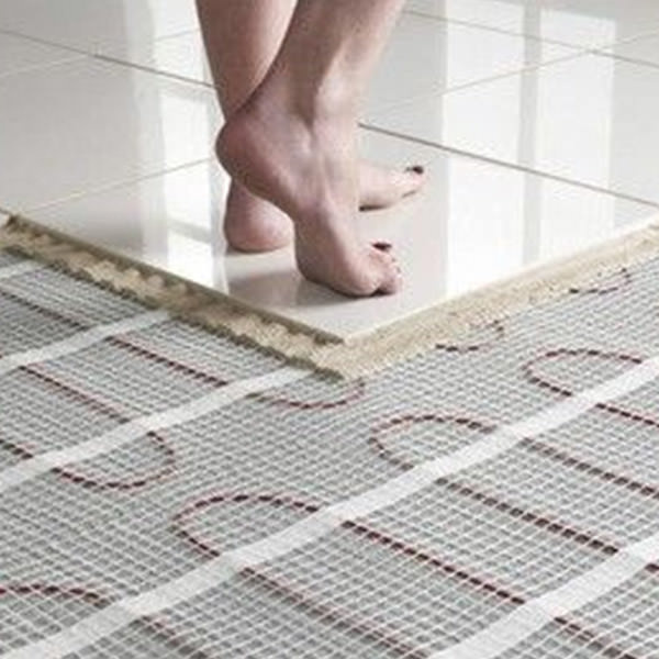 Save space and money with underfloor heating