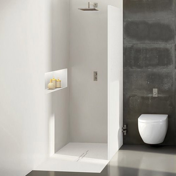 Small footprint shower trays