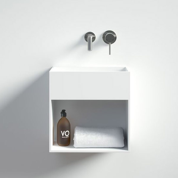 Try a tiny cloakroom basin