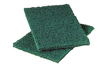 Fiber scrub pad