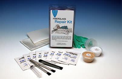 Fiberglass mending kit