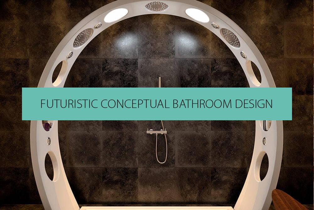 Futuristic Shower Enclosures & Bathroom Design