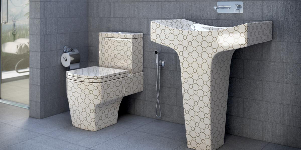 Cappuccino Bathroom Suite