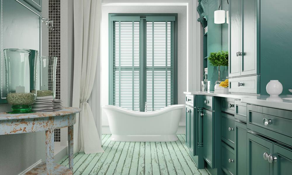 Green Large Bathroom