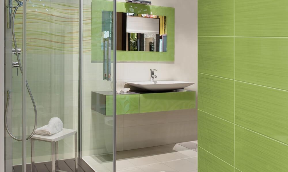 Sea Green Bathroom