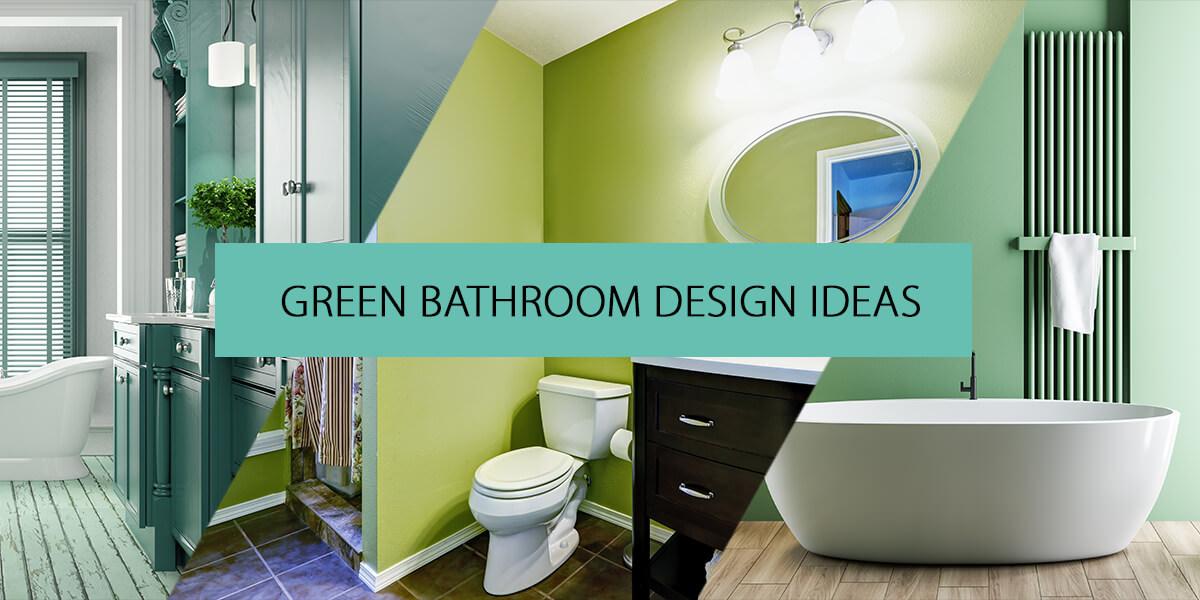 Green Bathroom Inspirations