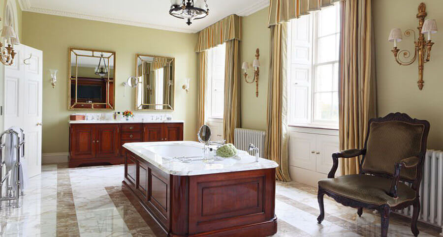 Large Green Bathroom
