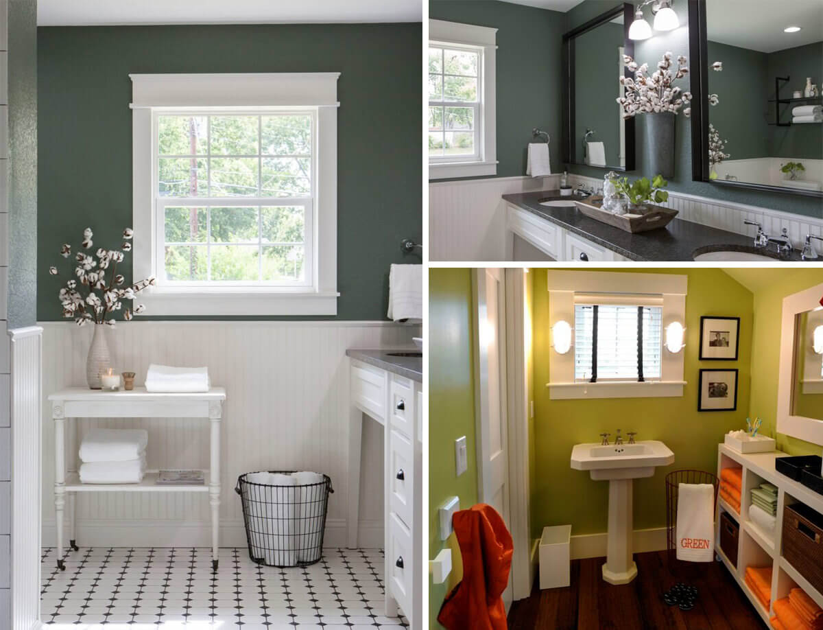 Green Bathroom Ideas