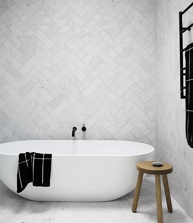 Grey Wall & Floor Bathroom Tiles