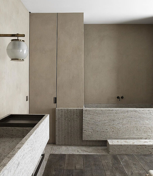 Grey Bathroom with a touch of Greige