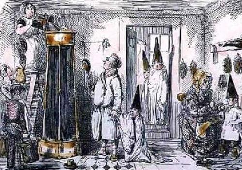 English Regency Shower