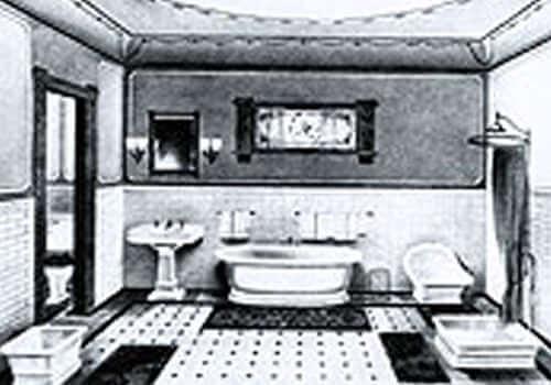 first one-piece bathtub