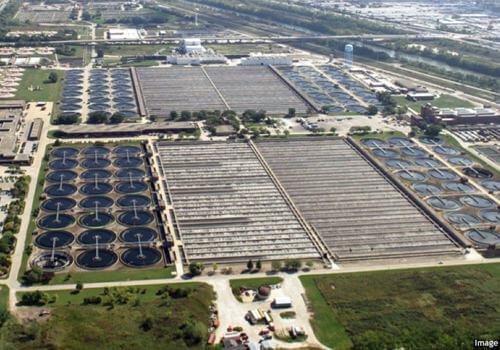 Stickney water treatment plant