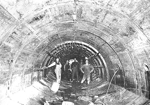 America's first integrated sewer system