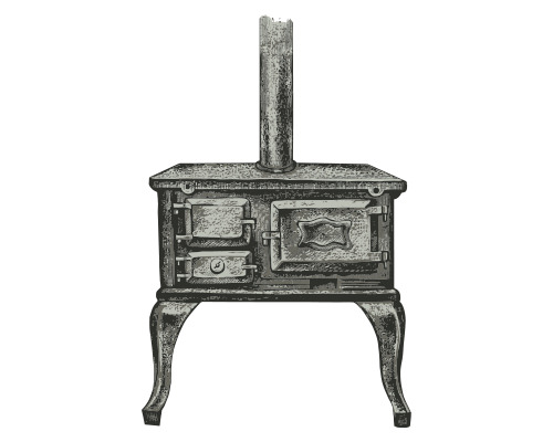 earliest metal stoves