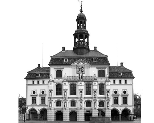 city hall in Luneberg Germany