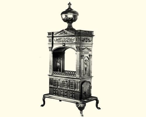 earliest metal stoves