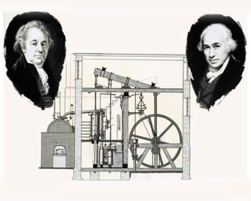 Matthew Boulton and James Watt