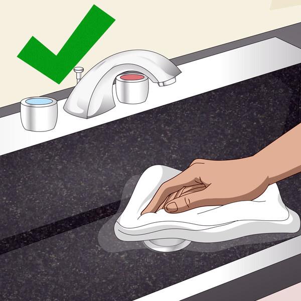 Clean a Composite Sink
