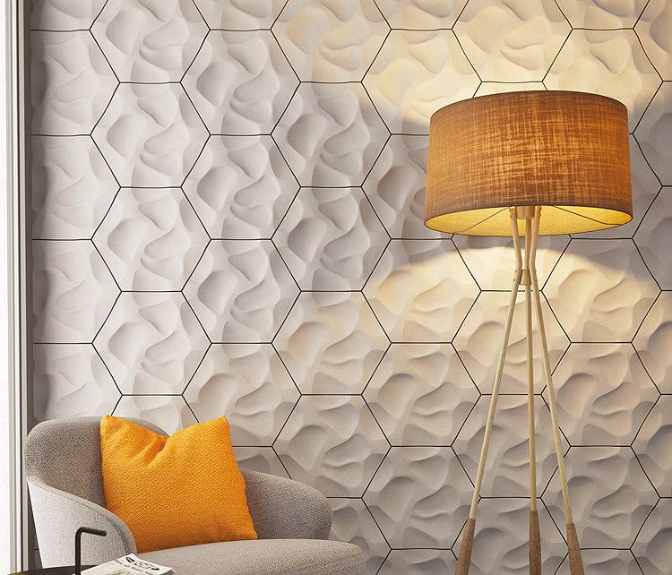 Hexagonal 3D Tiles