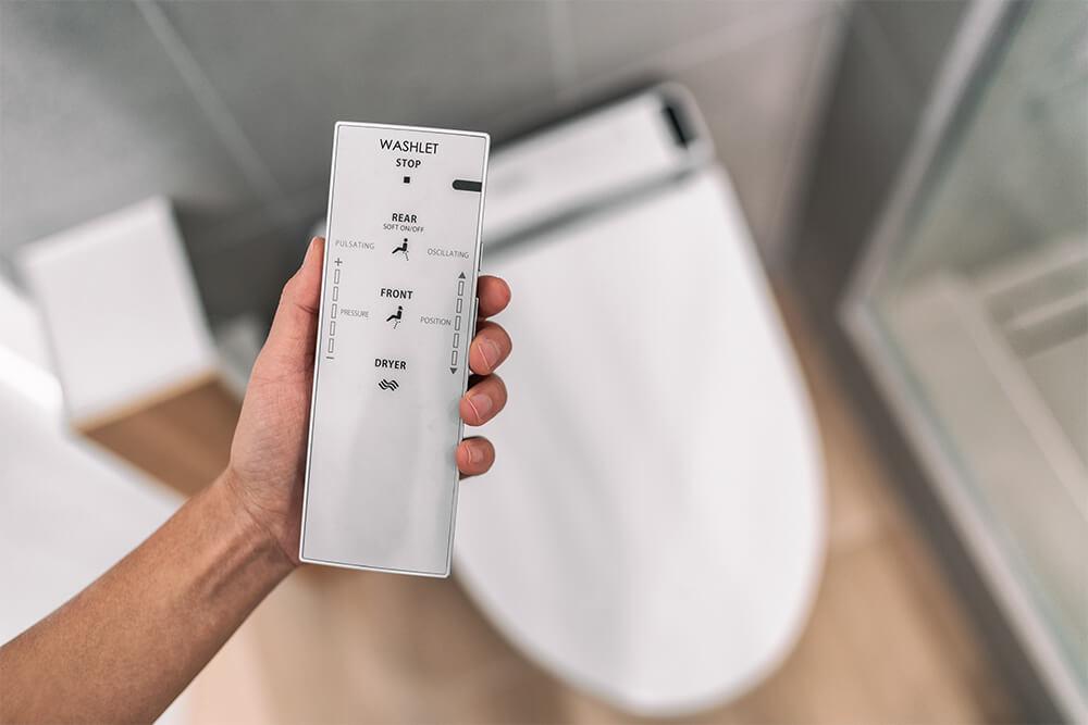 Japanese Toilet Remote