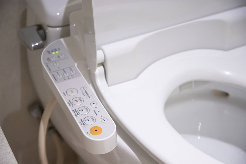 Functions Of A Japanese Toilet