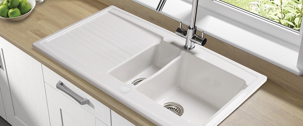 ceramic 1.5 bowl sink
