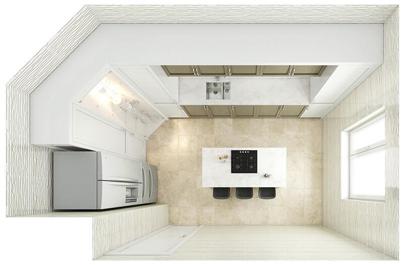 Kitchen Layout 10