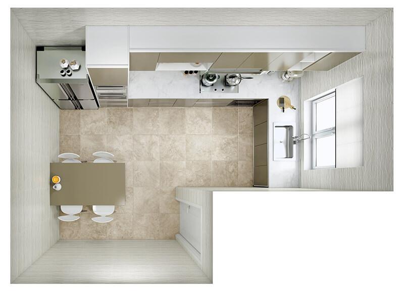 Kitchen Layout 17