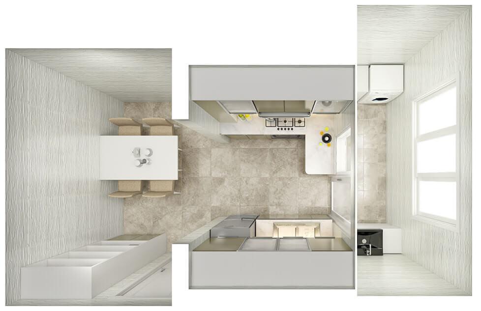 Kitchen Layout 21
