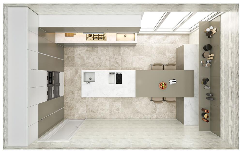 Kitchen Layout 23