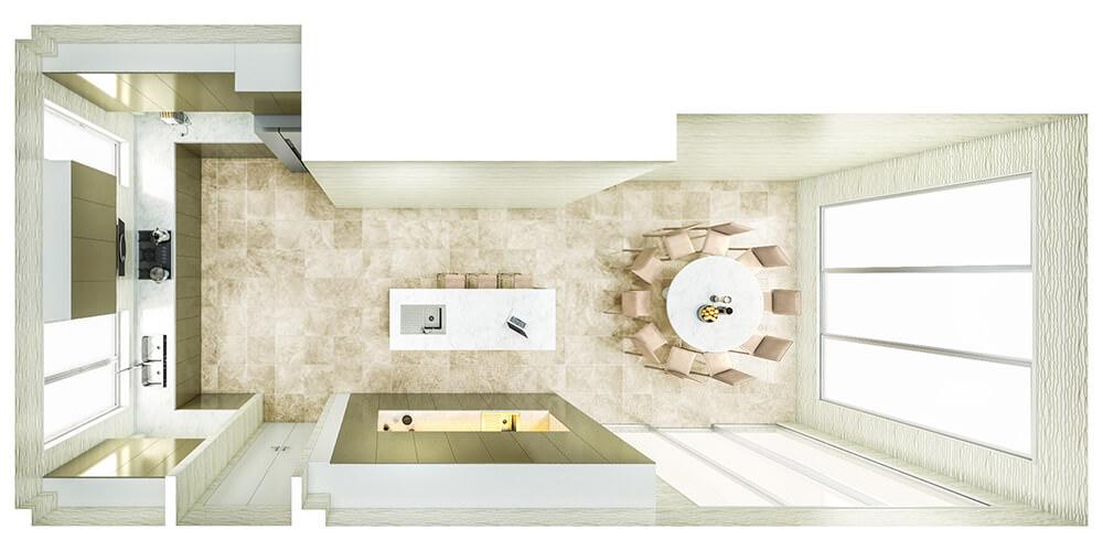 Kitchen Layout 28