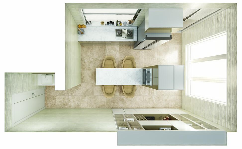 Kitchen Layout 30