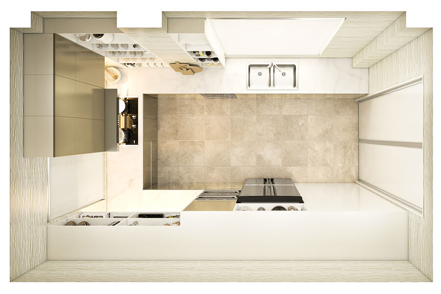 Kitchen Layout 31