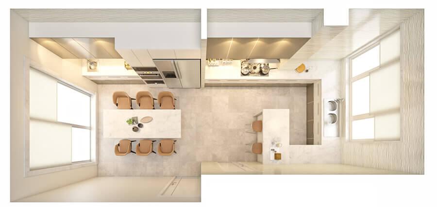 Kitchen Layout 36