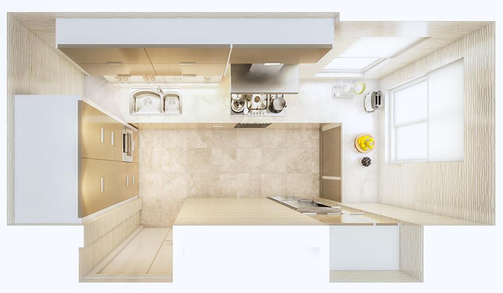 Kitchen Layout 41