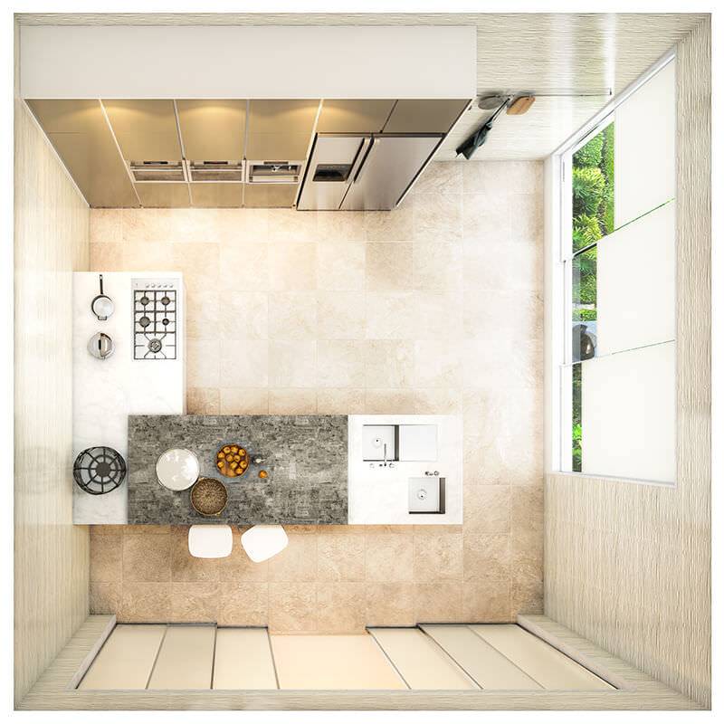 Kitchen Layout 43